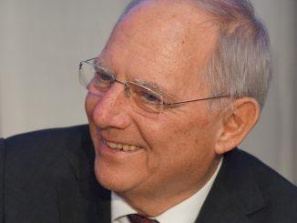 Wolfgang Schäuble bei der vbw in München, Foto: Stefan Groß