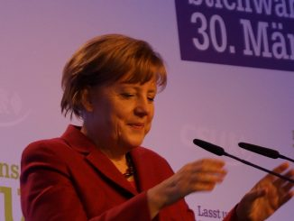 Bundeskanzlerin Dr. Angela Merkel, Foto: Stefan Groß