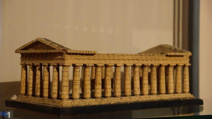 Kopie der Akropolis in Athen