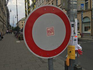 Verbotsschild. Foto: Stefan Groß
