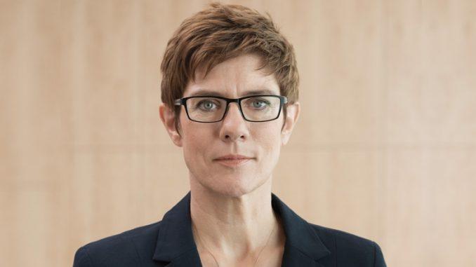 Annegret Kramp-Karrenbauer, Foto: Foto: CDU/Laurence Chaperon