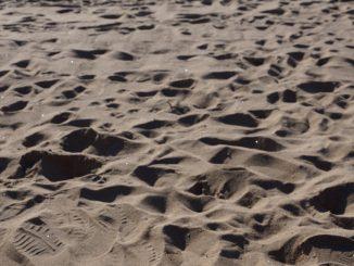 Spuren im Sand, Foto: Stefan Groß