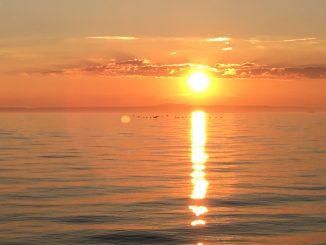 Sonnenuntergang, Ftot: Stefan Groß