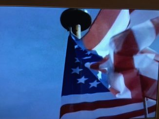 Amerika-Fahne, Foto: Stefan Groß