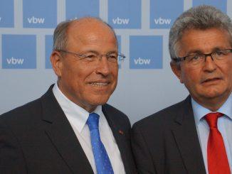 Alfred Gaffal und Bertram Brossardt, Foto: Stefan Groß