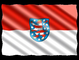 deutschland fahne flagge bundesland thüringen, Quelle: jorono, Pixabay License Freie kommerzielle Nutzung Kein Bildnachweis nötig
