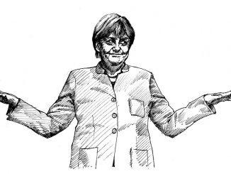 merkel cdu parteitag zeichnung angela politikerin, Quelle: dianakuehn30010, Pixabay License Freie kommerzielle Nutzung Kein Bildnachweis nötig